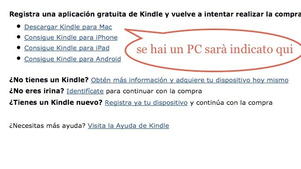 edida - come installare kindle