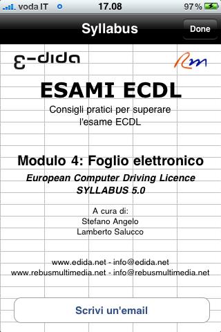 Lamberto Salucco - Esami ECDL 4