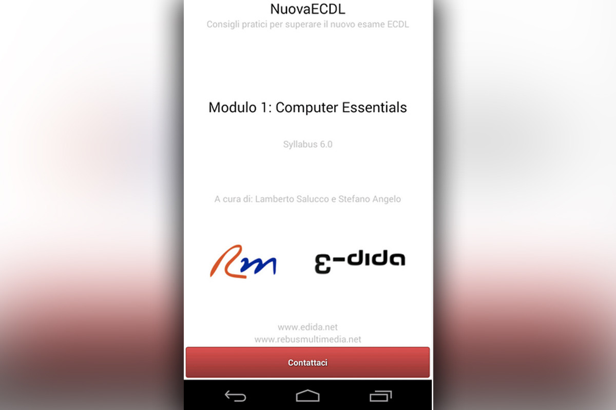 Lamberto Salucco - App Nuova ECDL